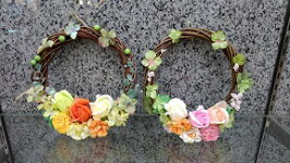 【ふるさと納税】清花園シャボンフラワーリース