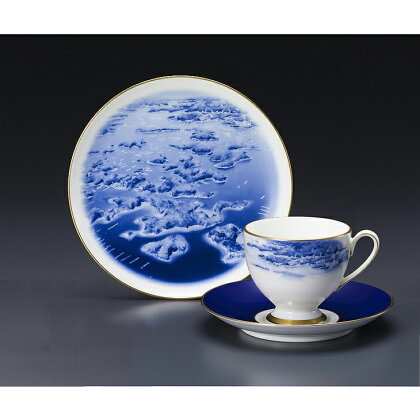【英虞湾】絵皿&1客碗皿