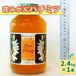【ふるさと納税】花みかんハチミツ純粋蜂蜜2.4kgみかん蜜