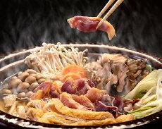 【ふるさと納税】No.214【かしわの川中】超新鮮&美味!地鶏とり鍋セット〜近江しゃも雌雄食べ比べ
