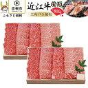 【ふるさと納税】近江牛 三角バラ焼肉600g