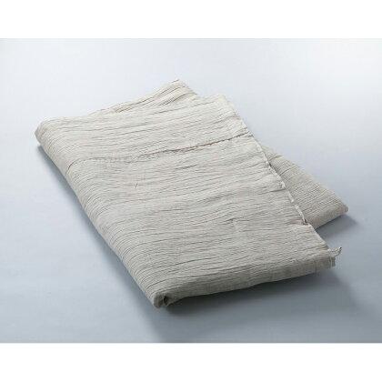 「近江の麻」本麻生成 掛布団 ※生成は天然色のため、多少色が異なります。[ 高島屋選定品 ](提供)麻絲商会