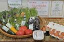 【ふるさと納税】有機野菜・JAS認定京都野菜・こだわり卵・黒豆味噌セット