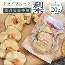 【ふるさと納税】無添加 無着色 砂糖不使用 京丹後産 梨のドライフルーツ 20g