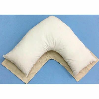 【ふるさと納税】授乳クッション兼ブーメラン型 枕 1個 専用枕カバー2枚付[0375]