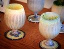 【ふるさと納税】Ceramica Stripes Tulip セラミカストライプチューリップ(ハレの日のペアグラス)