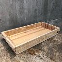 【ふるさと納税】木箱(りんご箱)Cサイズ 62cm×31cm...