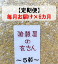 【ふるさと納税】定期便 毎月お届け6ヵ月 雑穀屋の玄さん オリジナル 雑穀ブレンド(5穀ブレンド)300g