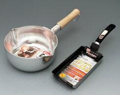 【ふるさと納税】No.036IH対応ストリール玉子焼スリム+ゆきひら鍋18cm
