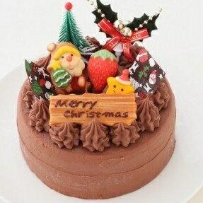 【ふるさと納税】クリスマス ケーキ クリスマスガナッシュ 5号ホール _0N37