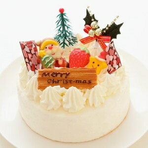 【ふるさと納税】2021 クリスマスケーキ 生クリーム ホイップ ケーキ 5号 ホール型 _0N38