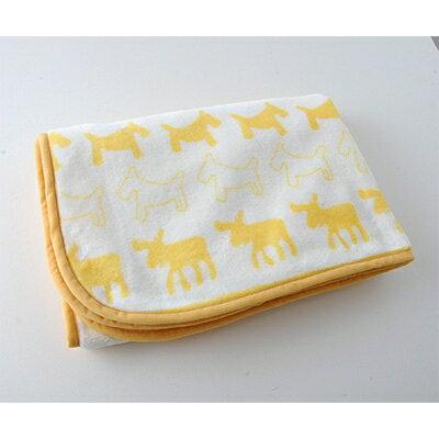 【ふるさと納税】北欧 ベビー毛布 70×100cm(クリーム)【1098301】
