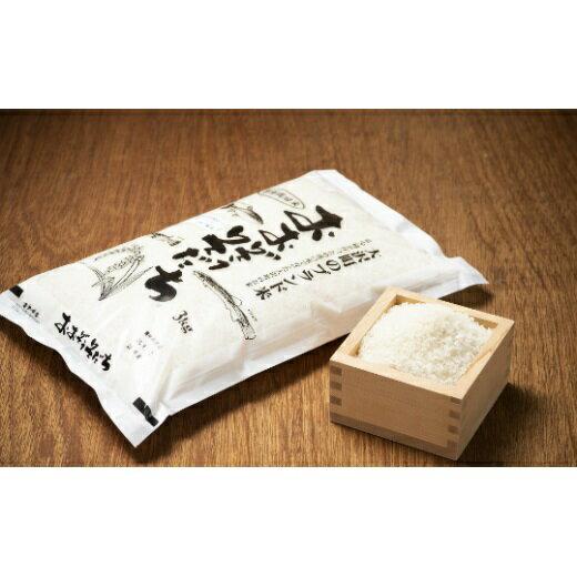 【ふるさと納税】111:大沢町産ブランド米「おおぞうそだち」3kg