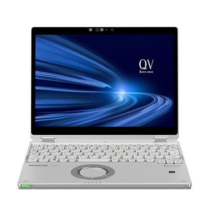 パナソニック ノートパソコン レッツノート QV9 シルバーダイヤモンド モバイルパソコン PC 新品 2in1 タブレットスタイル 高性能 軽量 長時間バッテリー 12型 Windows 10 Pro テレワーク コンパクト 電化製品 家電 おすすめ CF-QV9VRDQP3 Let's note
