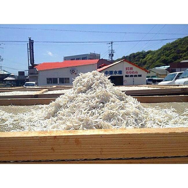 【ふるさと納税】AR08*淡路島 中原水産の「天日干しちりめんじゃこ」500g