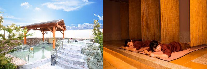 【ふるさと納税】潮芦屋温泉SPA水春 入浴+岩盤浴セット