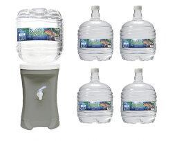 【ふるさと納税】D0504災害用備蓄水セット(グレー)
