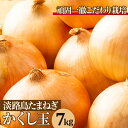 【ふるさと納税】今井ファームの淡路島たまねぎ「かくし玉」 7...