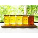 【ふるさと納税】J-14 季節の蜂蜜 いろいろ (180g×5瓶)【兵庫県たつの市産 蜂蜜】