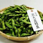 【ふるさと納税】特選丹波黒大豆枝豆(枝なし莢のみ1kg)