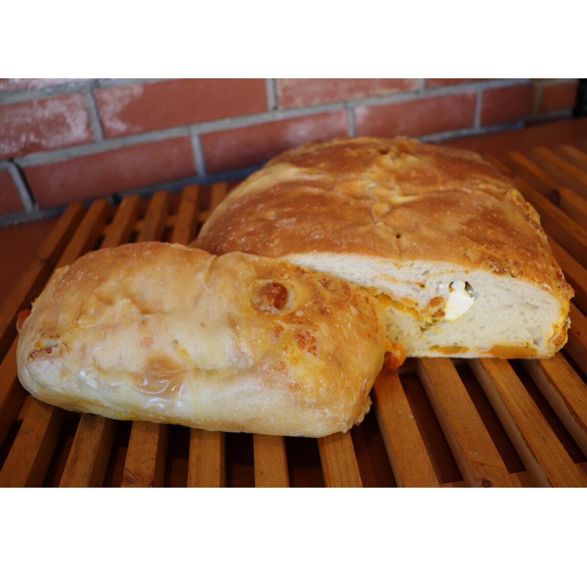 【ふるさと納税】天然酵母フォカッチャpartypan(ホクホク南瓜クリームチーズ)