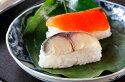 【ふるさと納税】柿の葉すし(鮭・鯖詰め合わせ)