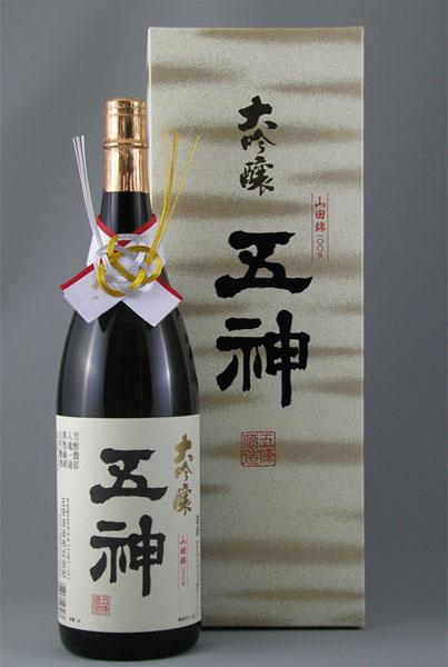 【ふるさと納税】大吟醸 山田錦(1800ml×1本)[お中元]:奈良県五條市