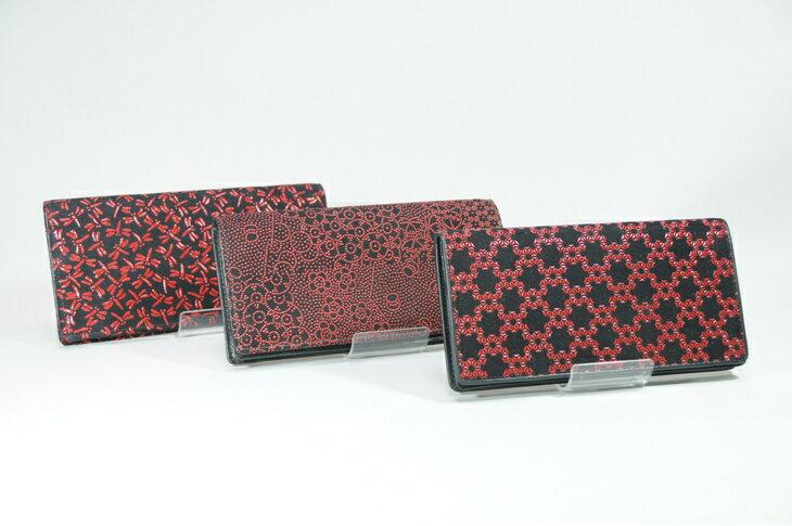 【ふるさと納税】印傳小物 財布(長財布束入 小銭入なし)女性用