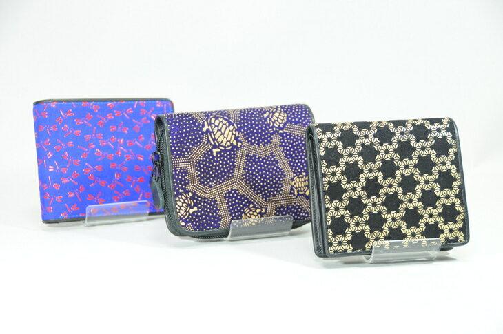 【ふるさと納税】印傳小物 財布(二つ折り)男性用