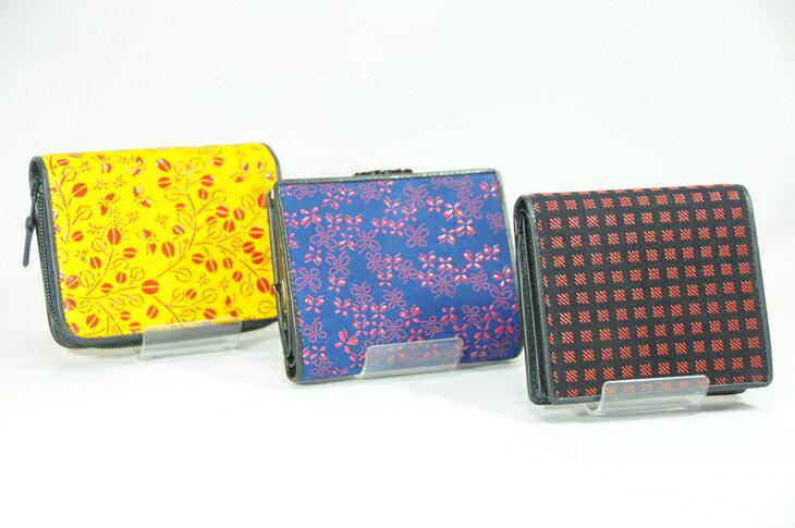 【ふるさと納税】印傳小物 財布(二つ折り)女性用