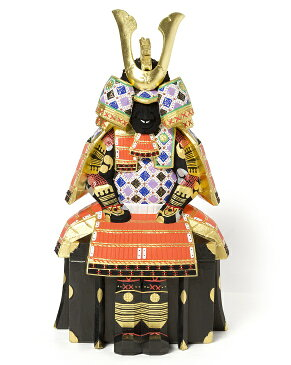 【ふるさと納税】具足 10号 義山作奈良の伝統工芸 一刀彫奈良人形【限定1個】