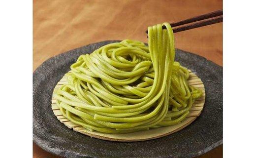 【ふるさと納税】明日香村産つるむらさきを練り込んだ「翠麺(みどりめん)」
