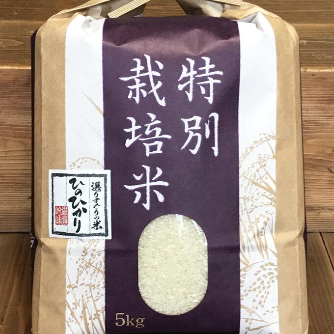 【ふるさと納税】 令和3年産 先行予約 特別栽培米 ひのひかり 5kg 広陵町 ヒノヒカリ 奈良県産 米 白米