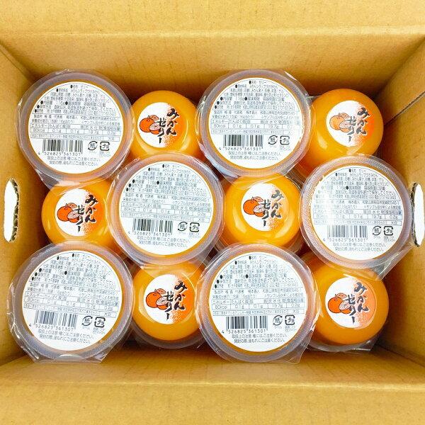 ふるさと納税 『和歌山市』果肉果汁たっぷり有田濃厚みかんゼリー24個入