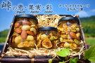 ナッツ・ドライフルーツの蜂蜜漬3種セット【峠の恵】【峠の彩】【峠の果実】