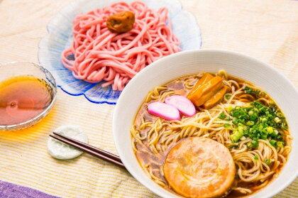 和歌山ラーメン&梅うどんセット