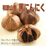 【ふるさと納税】和歌山産熟成黒にんにく600g