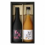 【ふるさと納税】和歌山の贅沢梅酒ギフトセット(紅南高・完熟みかん梅酒)