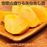 和歌山秋の味覚平核無柿(ひらたねなしがき)約7.5kg2020年10月上旬頃〜11月上旬頃発送予定
