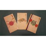 【ふるさと納税】伝統の高野細川紙と華やかな水引の祝儀袋3種セット