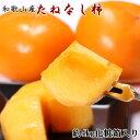 【ふるさと納税】【秋の味覚】和歌山産の たねなし柿 3L・4Lサイズ 約 4kg (化粧箱入り)