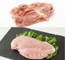 【ふるさと納税】【地元ブランド】紀州うめどりもも肉・ムネ肉大人気セット