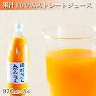 果汁100%田村そだちみかんジュース180ml×12本