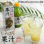 【ふるさと納税】★じゃばら果汁360ml×2本