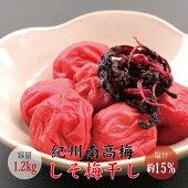 【贈答用】紀州南高梅梅セット500g×2(はちみつ味・しそ味)