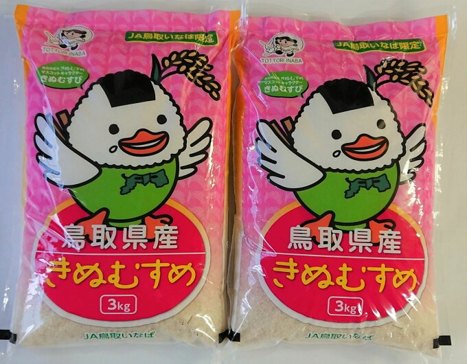 【ふるさと納税】A21-52 鳥取県産きぬむすめ 6kg...