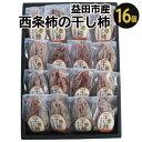 【ふるさと納税】A-93 西条柿の干し柿 16個
