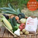 【ふるさと納税】旬の野菜と比田米の詰め合わせセット