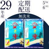 【ふるさと納税】 BG無洗米(定期)コシヒカリ 5kg/6ヵ月 米 無洗米 定期 島根県