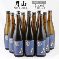 【ふるさと納税】月山芳醇辛口純米酒720ml(1ケース・12本)月山出雲純米酒日本酒酒